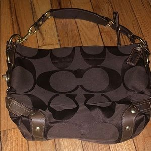 Coach bag used twice practically brand new